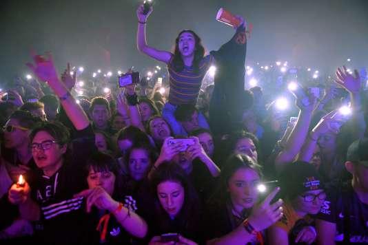 Des spectateurs lors d'un des nombreux concerts proposés dans le cadre des 39es Trans Musicales de Rennes, le 7 décembre 2017.