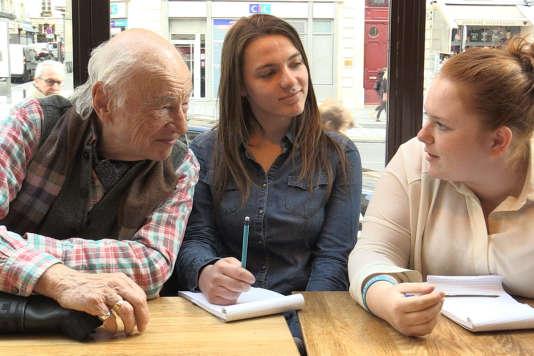 Edgar Morin dans le documentaire français d'Abraham Segal,«Enseignez à vivre!».
