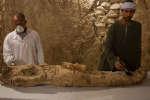 En Egypte, une momie a été découverte dans la nécropole de Draa Aboul Naga, en décembre 2017.