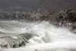 La promenade des Anglais a été fermée au public à Nice, lundi11décembre.