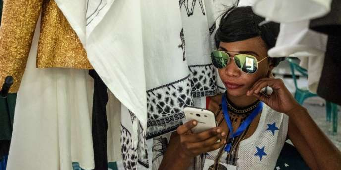 A Dar es Salaam, en Tanzanie, pendant la fashion week, le 2 décembre 2017