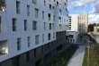 Des immeubles à proximité du parc Martin-Luther-King, dans le 17earrondissement de Paris.