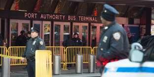 L'explosion s'est produite lundi 11 décembre, près de la gare routière de Manhattan, à New York.