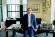 George Osborne, dans son bureau de l'«Evening Standard», àLondres, en septembre. 