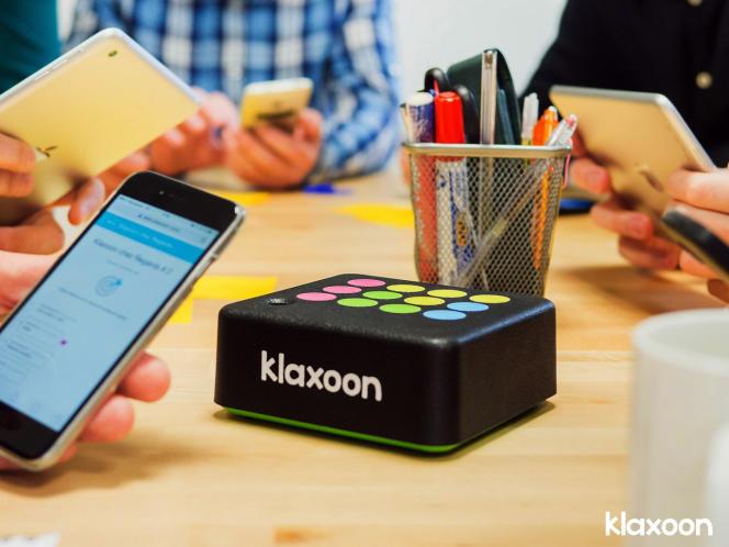 Image de promotion de la trousse d'outils numériques Klaxoon.