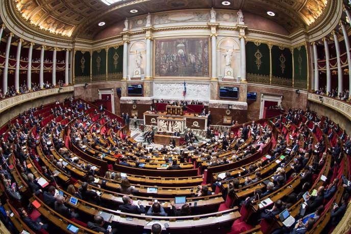 L'Assemblée nationale, le 6 décembre 2017.