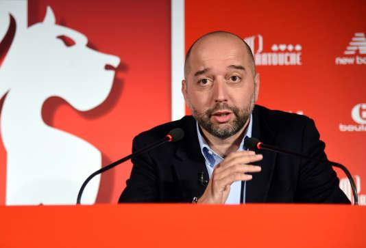 Le propriétaire du LOSC, Gérard Lopez, en janvier.