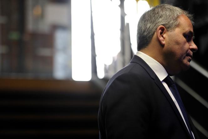 Xavier Bertrand, le président de la région Hauts-de-France, à Tourcoing (Nord) le 14 novembre 2017.