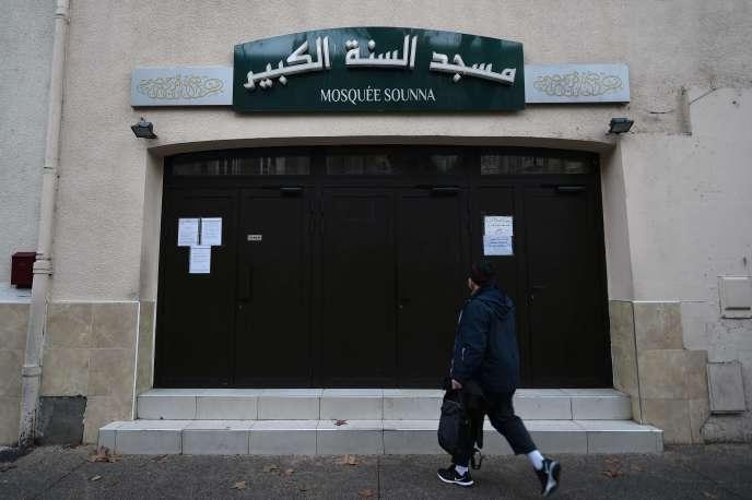 La mosquée As Sounna,à Marseille, le 1er décembre.