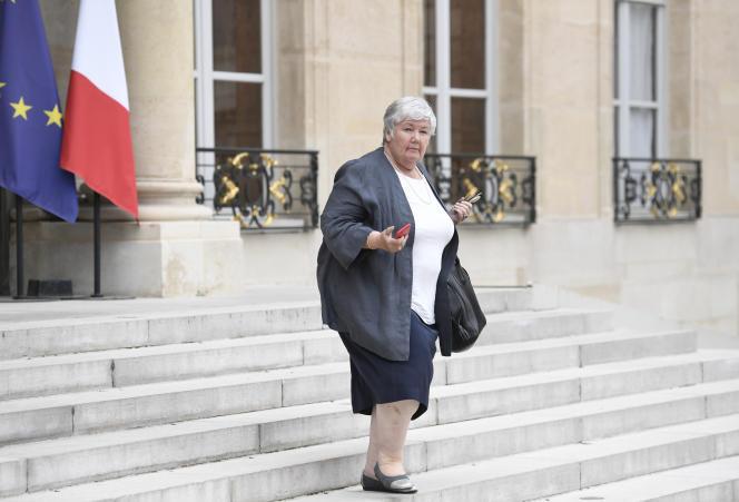 Jacqueline Gourault, à l'Elysée, en août 2017.