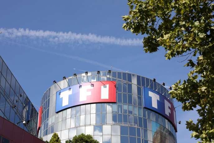 Le siège social de TF1, à Boulogne-Billancourt (Hauts-de-Seine), le 4 avril 2017.Depuis quelques mois la chaîne tente de faire payer les fournisseurs d'accès Internet.