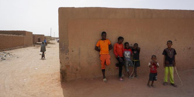 A Agadez, dans le nord du Niger, en avril 2017.