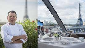 Le chef Christophe Raoux vous propose un repas de Noël de palace.