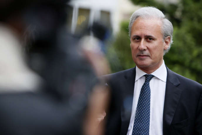 Georges Tron, ancien secrétaire d'Etat à la fonction publique et maire de Draveil (Essonne), en juin 2012.