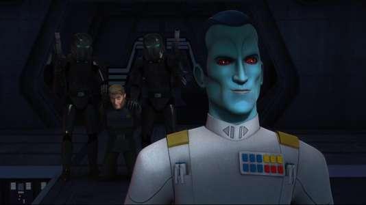 Le Grand Amiral Thrawn, transfuge de l'univers étendu de George Lucas récemment réhabilité par Disney.
