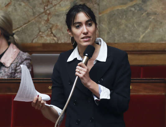 Paula Forteza, députée La République en marche, à l'Assemblée nationale, le 28 juillet.