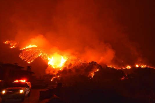 Les incendies dans l'ouest du pays qui ont surtout ravagé une grande partie de la Californie se sont chiffrés à 18milliards de dollars, soit «le triple du précédent record annuel», souligne le rapport.