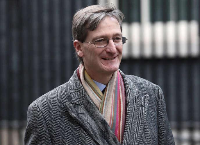 L'adoption de cet amendement poussé par le député Dominic Grieve, ici le29novembre 2017, illustre la position difficile de Theresa May.