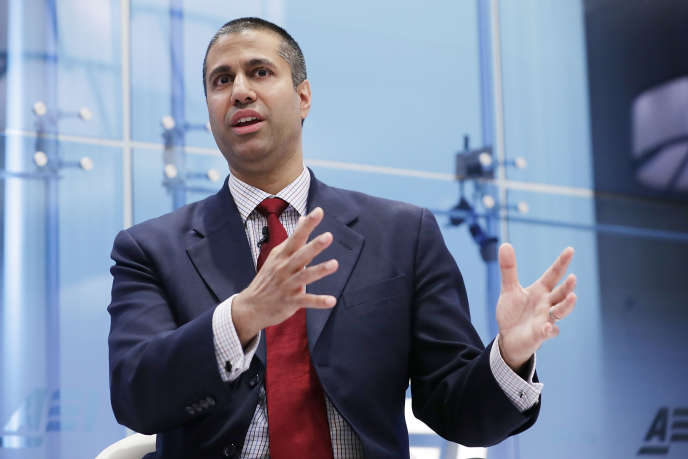 Ajit Pai, président de la Federal Communications Commission.