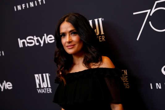 """Salma Hayekraconte à propos de Harvey Weinstein : « Il a prononcé ces mots effrayants : """"Je vais te tuer, ne pense pas que je n'en suis pas capable."""" »"""