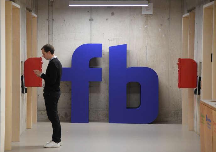 Au siège social britannique de Facebook, à Londres, le 4 décembre.