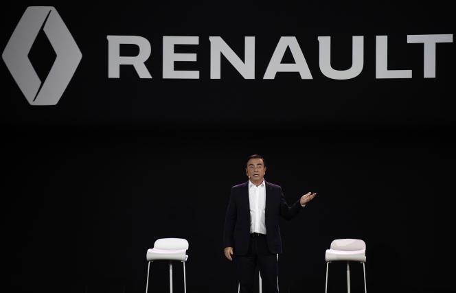 Le président de Renault, Carlos Ghosn, le 3 février 2016.
