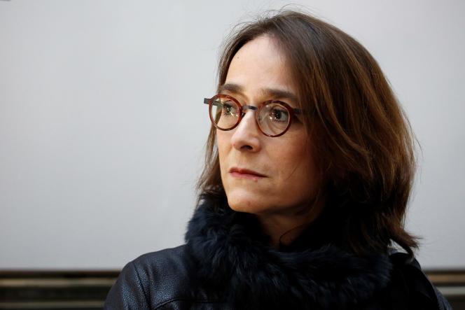 La présidente de la télévision publique,Delphine Ernotte, en mars 2017.