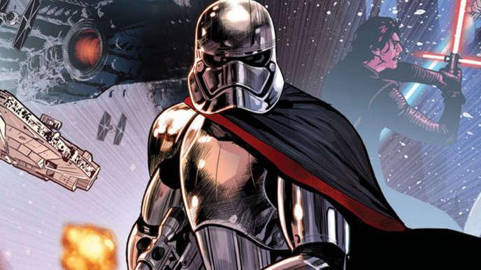 L'histoire du Capitaine Phasma, à peine évoqué dans « Le Réveil de la Force», est en réalité exploré dans un des innombrables comics inspiré de« Star Wars».