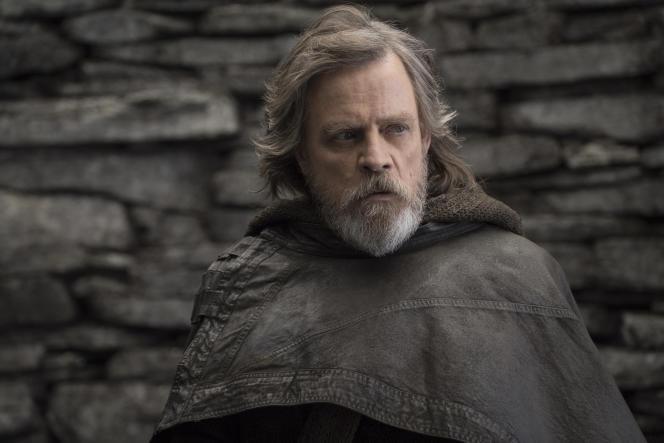 Mark Hamill dans le rôle de Luke Skywalker dans «Star Wars : Les Derniers Jedi».