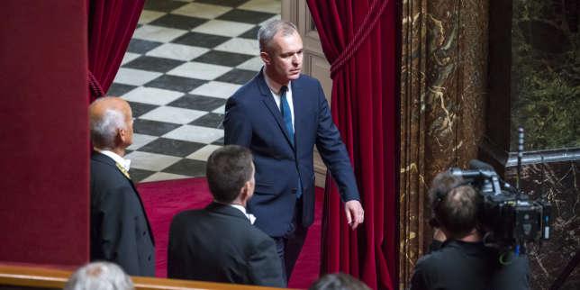 François de Rugy, président de l'Assemblée nationale, lors du Congrès à Versailles, le 3 juillet.