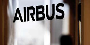 Un logo Airbus, au siège de l'entreprise à Toulouse, le 13 décembre 2017.