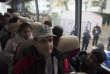 Dans le bus qui emmène les déboutés de l'asile vers l'aéroport.