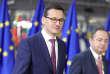 Le premier ministre polonais Mateusz Morawiecki, à Bruxelles, le 14 décembre 2017.