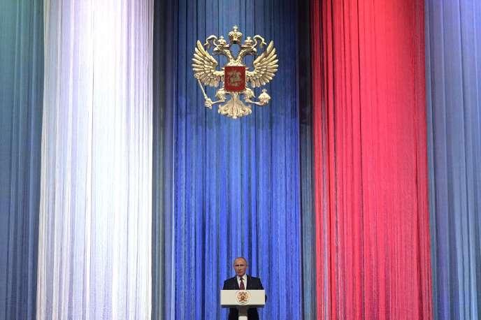 Vladimir Poutine, le 14 décembre à Moscou.