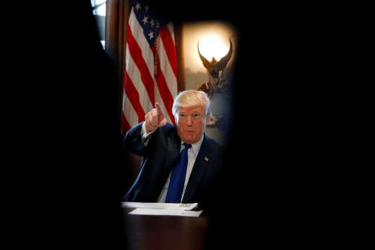 Le président des Etats-Unis, Donald Trump, à la Maison Blanche le 13 décembre.
