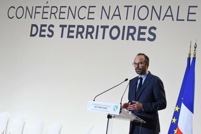 Le premier ministre, Edouard Philippe, à Cahors, le 14 décembre.
