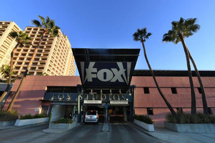 Les studios de la Fox à Los Angeles, en Californie, le 13 décembre.