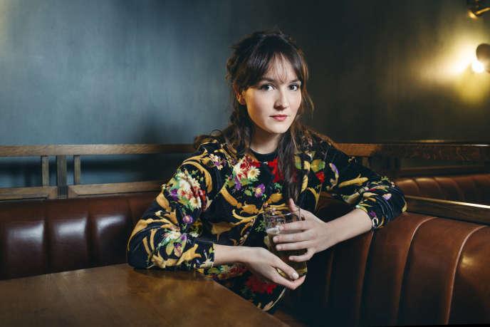 Anaïs Demoustier, au café Le Carreau, dans le 3e arrondissement de Paris, le 11décembre.