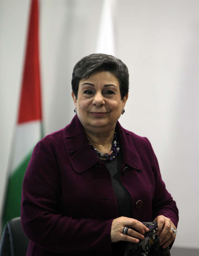 Hanan Ashrawi, le 23 janvier 2013.