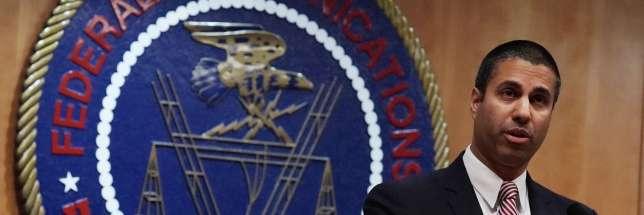 Ajit Pai, le président de la Federal Communications Commission, àWashington, le 14 décembre.