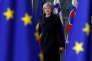 """« """"Il ne s'agit pas d'un Brexit dur ou doux"""", a insisté la première ministre Theresa May, lundi 11décembre, aux Communes, en assurant que le compromis de Bruxelles avait éveillé """"un nouveau sentiment d'optimisme"""" ». (Photo : la première ministre brittanique à son arrivée au sommet de l'Union européenne à Bruxelles le jeudi 14 décembre)."""
