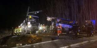 Une photo de l'accident prise par France Bleu.