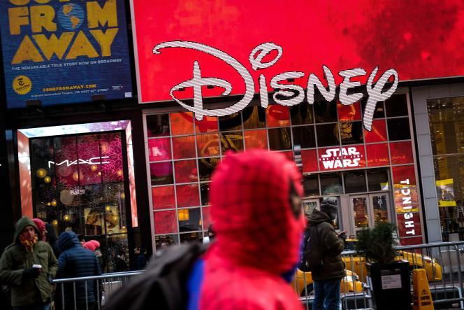 Le magasin Disney de Times Square, à New York, le 14 décembre.