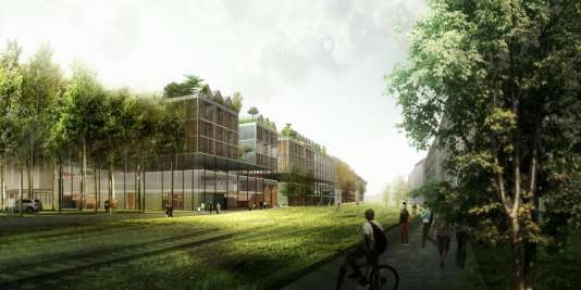 Bordeaux le quartier futuriste brazza bient t en chantier - Les jardins de l enclos portet sur garonne ...