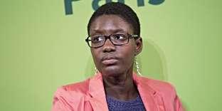 La militante Rokhaya Diallo, le 21 avril 2013.