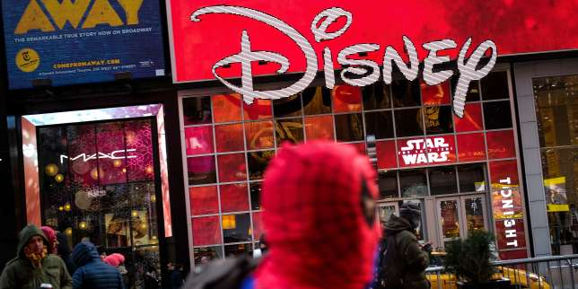 Le magasin Disney de Times Square, à New York, le 14 décembre.