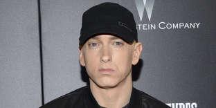 Le rappeur Eminem à New York en juillet 2015.