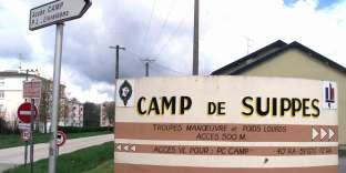 A Suippes (Marne), en 2001.