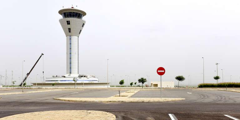 L'aéroport international Blaise-Diagne, au Sénégal, en octobre 2017.