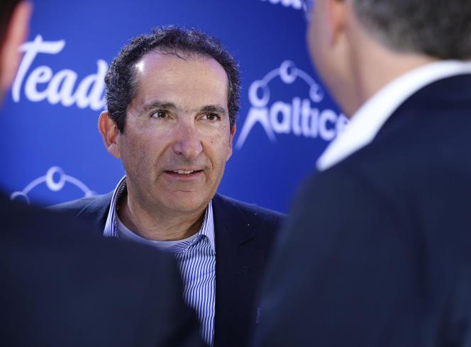 L'endettement d'Altice, que dirige Patrick Drahi, s'est envolé ces dernières années après une frénésie de rachats.